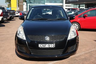2013 Suzuki Swift FZ GL Black 4 Speed Automatic Hatchback