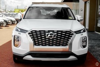 2021 Hyundai Palisade LX2.V1 MY21 2WD White Cream 8 Speed Sports Automatic Wagon.