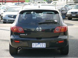 2005 Mazda 3 BK10F1 Maxx Sport Black Sports Automatic Hatchback