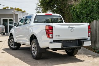 2021 Mazda BT-50 TFS40J XT Ice White 6 Speed Sports Automatic Utility.
