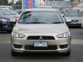 2010 Mitsubishi Lancer CJ Activ Gold Constant Variable Sedan.