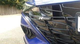 2021 Hyundai i30 CN7.V1 MY21 N Line D-CT Premium Intense Blue 7 Speed Sports Automatic Dual Clutch