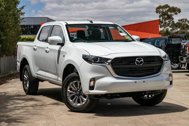 New Mazda BT-50 TFS40J XT Mornington, 2021 Mazda BT-50 TFS40J XT Ice White 6 Speed Sports Automatic Utility
