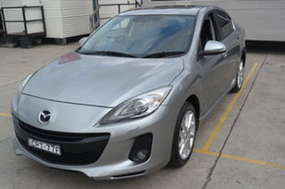 2013 Mazda 3 BL10L2 MY13 SP25 Silver 6 Speed Manual Sedan.