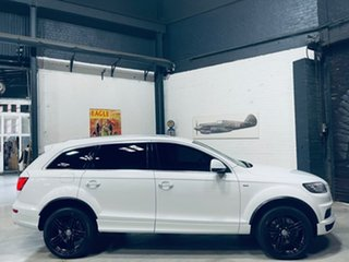 2014 Audi Q7 4L MY14 TDI Tiptronic Quattro White 8 Speed Sports Automatic Wagon.