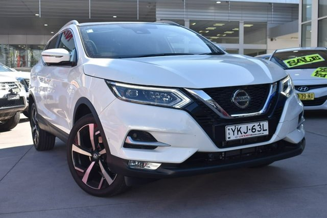 Demo Nissan Qashqai J11 Series 3 MY20 Ti X-tronic Blacktown, 2021 Nissan Qashqai J11 Series 3 MY20 Ti X-tronic Ivory Pearl 1 Speed Constant Variable Wagon