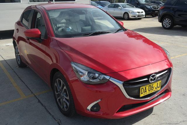 Used Mazda 2 DJ2HAA GT SKYACTIV-Drive Maryville, 2017 Mazda 2 DJ2HAA GT SKYACTIV-Drive Red 6 Speed Sports Automatic Hatchback