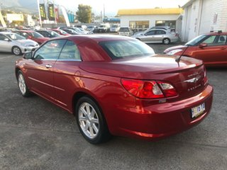 2008 Chrysler Sebring JS Limited Infernor Red/leather 6 Speed Sports Automatic Convertible
