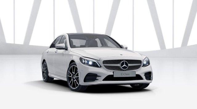 New Mercedes-Benz C-Class W205 801MY C200 9G-Tronic Berwick, 2021 Mercedes-Benz C-Class W205 801MY C200 9G-Tronic Polar White 9 Speed Sports Automatic Sedan