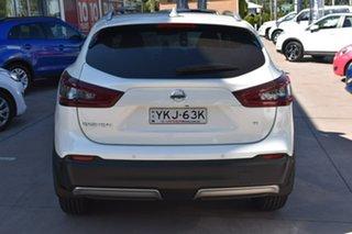 2020 Nissan Qashqai J11 Series 3 MY20 Ti X-tronic Ivory Pearl 1 Speed Constant Variable Wagon