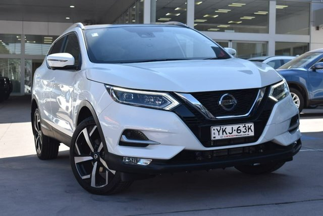 Demo Nissan Qashqai J11 Series 3 MY20 Ti X-tronic Blacktown, 2020 Nissan Qashqai J11 Series 3 MY20 Ti X-tronic Ivory Pearl 1 Speed Constant Variable Wagon