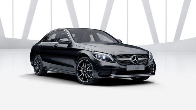 Demonstrator Mercedes-Benz C-Class W205 801MY C200 9G-Tronic Mulgrave, 2021 Mercedes-Benz C-Class W205 801MY C200 9G-Tronic Obsidian Black 9 Speed Sports Automatic Sedan
