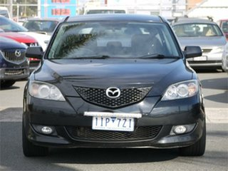 2005 Mazda 3 BK10F1 Maxx Sport Black Sports Automatic Hatchback.