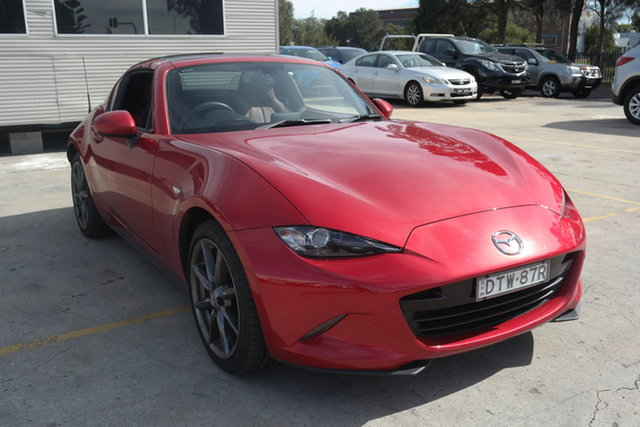Used Mazda MX-5 ND GT SKYACTIV-Drive Maryville, 2017 Mazda MX-5 ND GT SKYACTIV-Drive Soul Red 6 Speed Sports Automatic Roadster