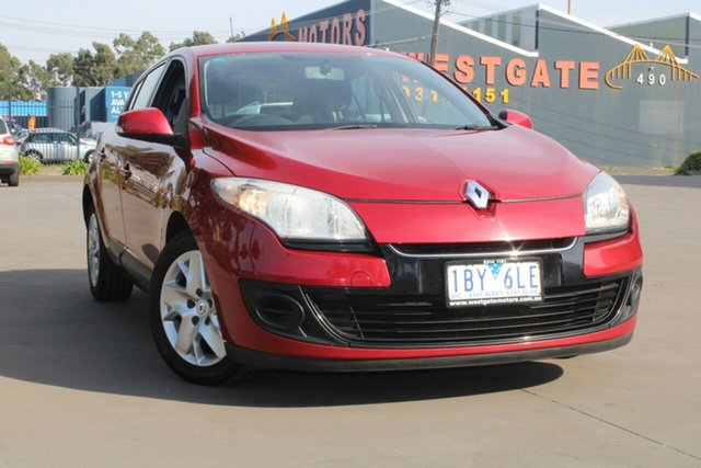 Used Renault Megane B95 Expression West Footscray, 2013 Renault Megane B95 Expression Continuous Variable Hatchback