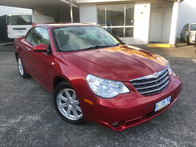 Used Chrysler Sebring JS Limited Derwent Park, 2008 Chrysler Sebring JS Limited Infernor Red/leather 6 Speed Sports Automatic Convertible