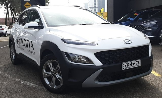 Demo Hyundai Kona Os.v4 MY21 Active 2WD Warwick Farm, 2021 Hyundai Kona Os.v4 MY21 Active 2WD Saw 8 Speed Constant Variable Wagon