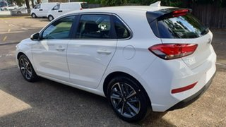 2021 Hyundai i30 PD.V4 MY21 Active Polar White 6 Speed Sports Automatic Hatchback