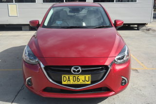 2017 Mazda 2 DJ2HAA GT SKYACTIV-Drive Red 6 Speed Sports Automatic Hatchback.