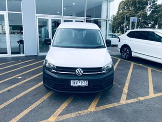2018 Volkswagen Caddy 2KN MY18 TDI250 Maxi DSG White 6 Speed Sports Automatic Dual Clutch Van.