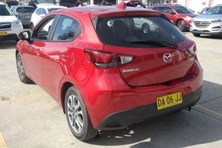 2017 Mazda 2 DJ2HAA GT SKYACTIV-Drive Red 6 Speed Sports Automatic Hatchback