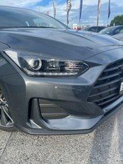 2020 Hyundai Veloster JS MY20 Coupe Dark Knight 6 Speed Automatic Hatchback.