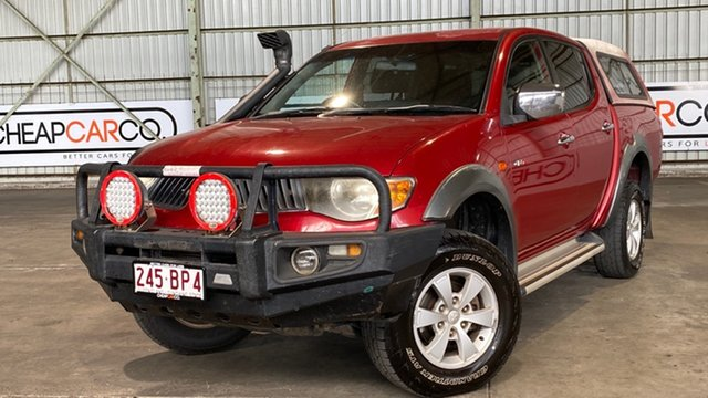 Used Mitsubishi Triton ML MY07 GLX-R Double Cab Rocklea, 2006 Mitsubishi Triton ML MY07 GLX-R Double Cab 5 Speed Manual Utility