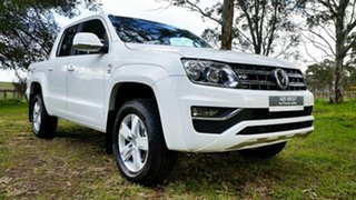 2021 Volkswagen Amarok 2H MY21 TDI550 4MOTION Perm Sportline Candy White 8 Speed Automatic Utility