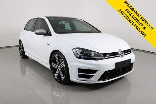 Used Volkswagen Golf AU MY17 R Bentley, 2016 Volkswagen Golf AU MY17 R White 6 Speed Direct Shift Hatchback