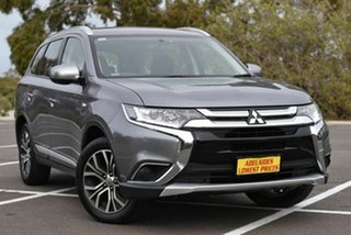 2017 Mitsubishi Outlander ZL MY18.5 ES AWD Silver 6 Speed Constant Variable Wagon.