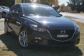 2016 Mazda 3 BM5436 SP25 SKYACTIV-MT Blue 6 Speed Manual Hatchback.