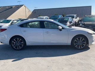 2017 Mazda 6 GL1031 GT SKYACTIV-Drive Snowflake White 6 Speed Sports Automatic Sedan.