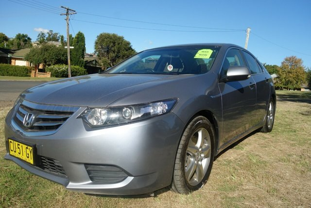 Used Honda Accord Euro CU MY12 East Maitland, 2012 Honda Accord Euro CU MY12 Silver 5 Speed Automatic Sedan