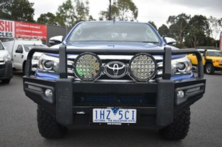 2015 Toyota Hilux GUN126R SR5 Double Cab Blue 6 Speed Manual Utility