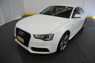 2014 Audi A5 8T MY15 Sportback Multitronic White 8 Speed Constant Variable Hatchback