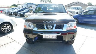 2010 Nissan Navara D22 MY2010 ST-R Black 5 Speed Manual Utility.