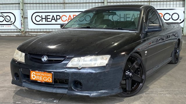 Used Holden Ute VY Storm S Rocklea, 2003 Holden Ute VY Storm S Black 4 Speed Automatic Utility