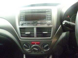 2010 Subaru Impreza G3 MY10 R AWD Red 4 Speed Sports Automatic Hatchback