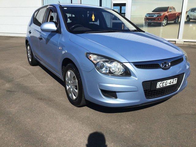 Pre-Owned Hyundai i30 FD MY11 SX Cardiff, 2011 Hyundai i30 FD MY11 SX Blue 4 Speed Automatic Hatchback