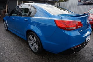 2014 Holden Commodore VF MY15 SV6 Perfect Blue 6 Speed Sports Automatic Sedan.