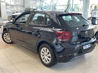 2021 Volkswagen Polo AW MY21 70TSI Trendline Black 5 Speed Manual Hatchback.