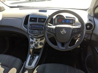 2012 Holden Barina TK MY11 White 4 Speed Automatic Sedan