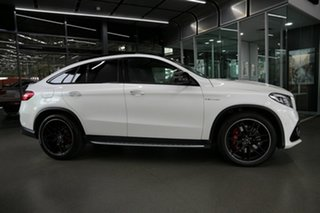 2018 Mercedes-Benz GLE-Class C292 MY809 GLE63 AMG Coupe SPEEDSHIFT PLUS 4MATIC S White 7 Speed