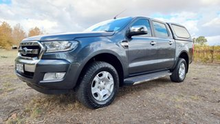 2016 Ford Ranger PX MkII XLT Double Cab 4x2 Hi-Rider Grey 6 Speed Sports Automatic Utility