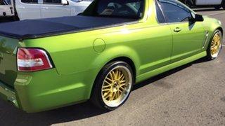 2015 Holden Ute VF II MY16 SV6 Ute Green 6 Speed Manual Utility.