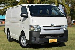 2016 Toyota HiAce KDH201R LWB White 4 Speed Automatic Van.