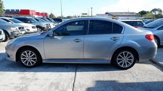 2009 Subaru Liberty B4 MY09 AWD Silver 4 Speed Sports Automatic Sedan