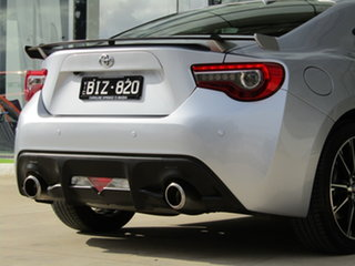 2017 Toyota 86 ZN6 GTS Silver 6 Speed Sports Automatic Coupe