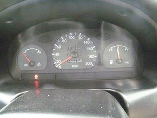 1999 Hyundai Excel X3 Sprint Twin Cam Blue 4 Speed Automatic Hatchback