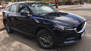 2021 Mazda CX-5 KF4WLA Maxx SKYACTIV-Drive i-ACTIV AWD Sport Deep Crystal Blue 6 Speed.